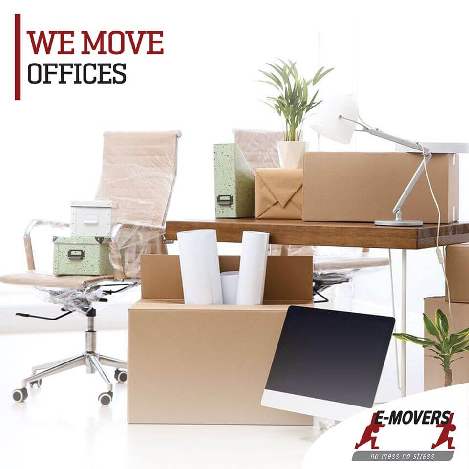 Office Reloaction – We Move Offices