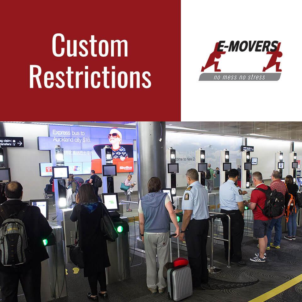 Customs Regulations