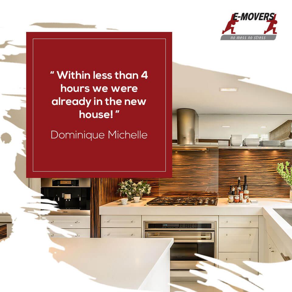customer review – Dominique Michelle