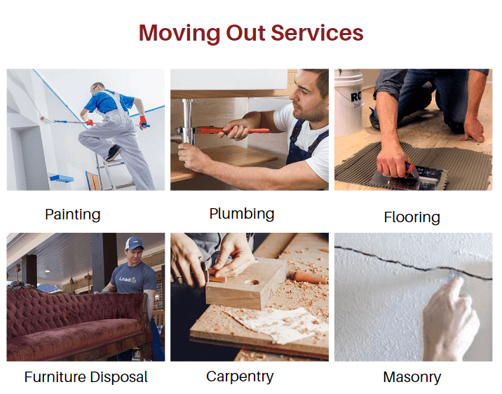 Moving out services